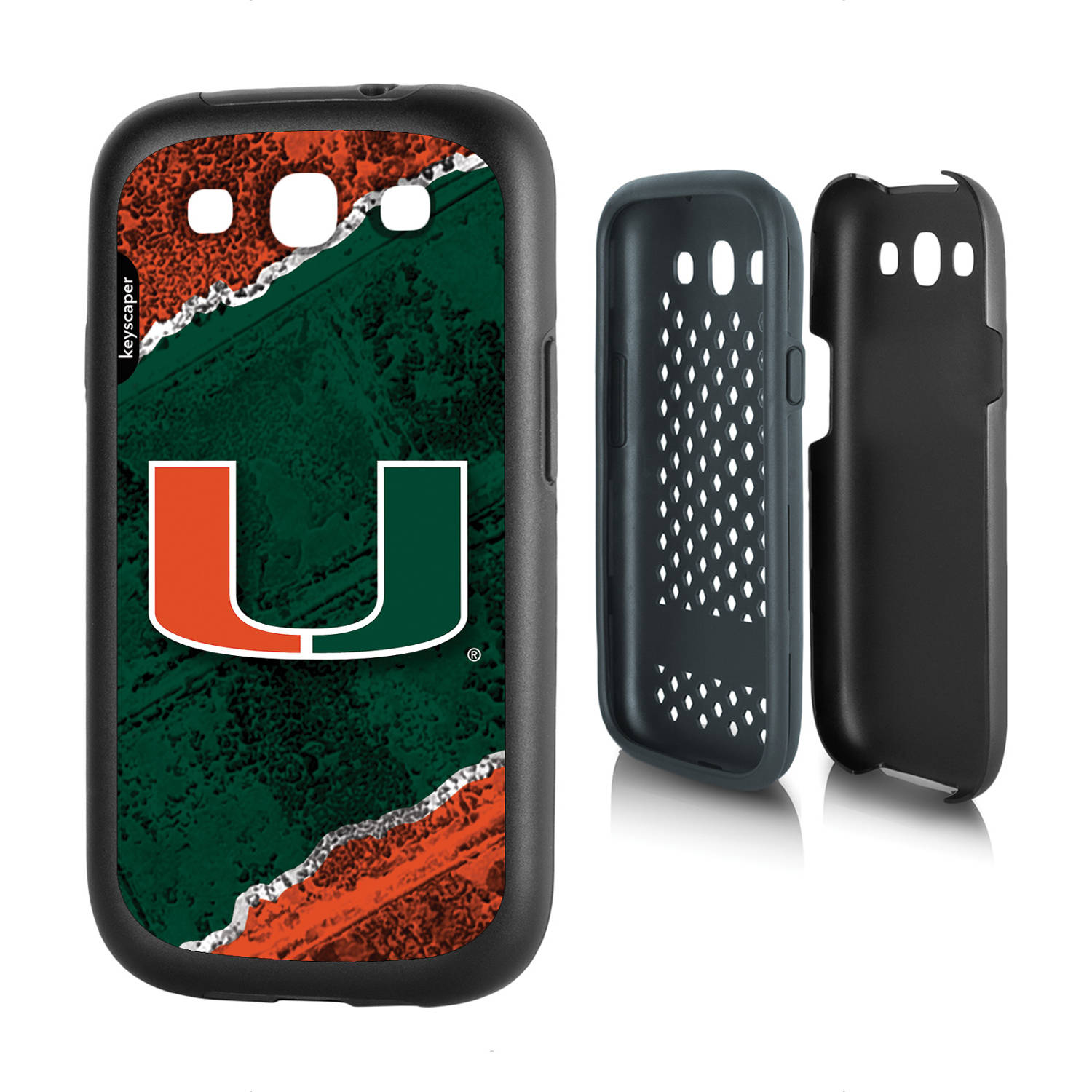 Miami Hurricanes Galaxy S3 Rugged Case