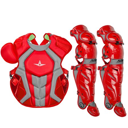 All-Star System7 Axis NOCSAE Adult Baseball Catcher's Gear