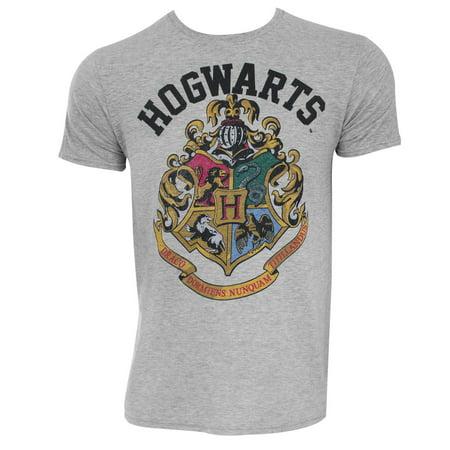 Harry Potter Hogwarts Crest Grey Tee Shirt](Hogwarts Tie)