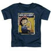 Betty Boop Power Little Boys Shirt