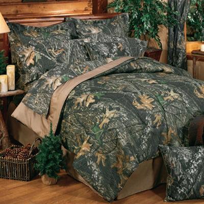 Mossy Oak New Break Up Camo 8 Pc Full Size Comforter Set
