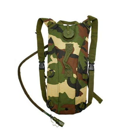 2L Hydration System Climbing Survival Hiking Pouch Backpack Bladder Water Bag -