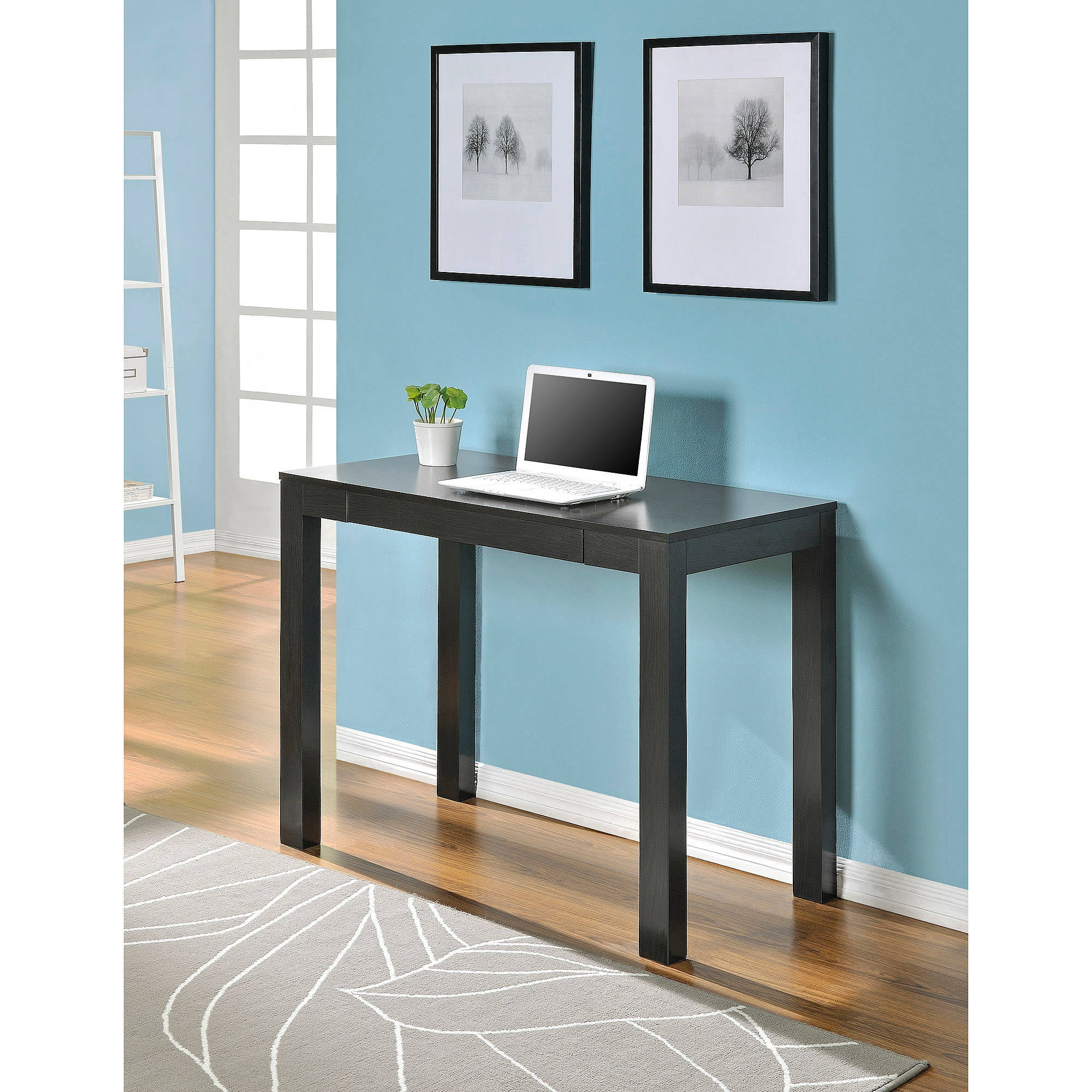 Mainstays Parsons Desk With Drawer, Multiple Colors   Walmart.com