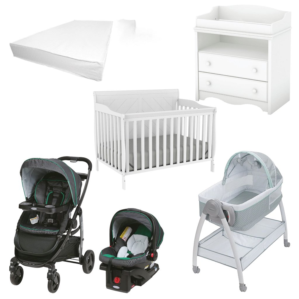 6 Pieces Nursery Furniture Graco Baby