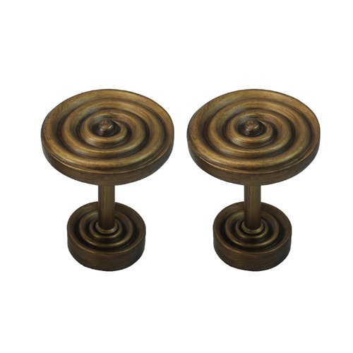 Urbanest Swirl Designer Medallion Curtain Holdback (Set of 2)