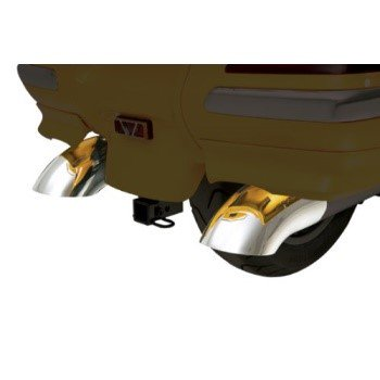 Show Chrome Exhaust - Show Chrome Accessories 52-618 Turn Down Exhaust Tip