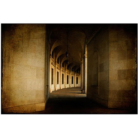"Trademark Fine Art ""Hallowed Halls"" Canvas Art by Lois Bryan"