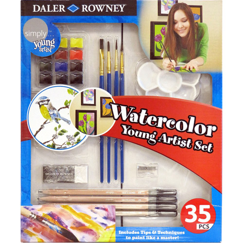Simply Watercolor Young Artist Set