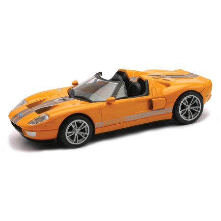 Die-Cast Orange Ford GTX1 1:43 Scale - image 2 de 2