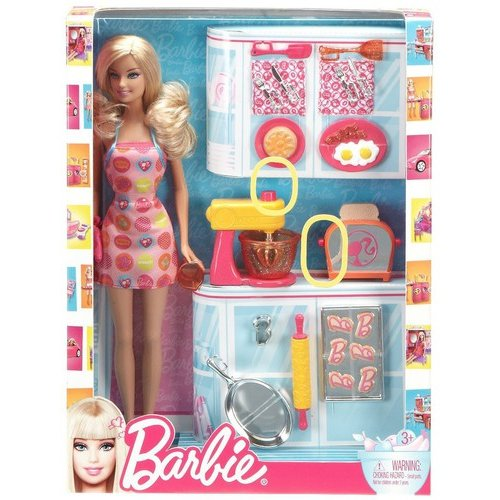 Barbie Baker Doll And Baking Accessories Play Set