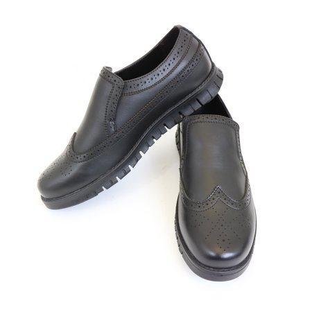 - Round-Toe Loafer Oxford Design Shoes