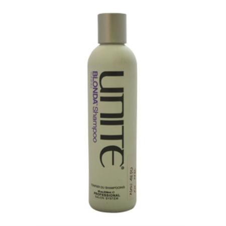 Blonda Shampoo Toning by Unite for Unisex - 8 oz Shampoo - image 1 of 3