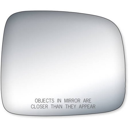 90162 - Fit System Passenger Side Mirror Glass, Jeep Liberty (2006 06 Jeep Liberty Mirror)