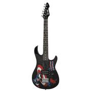 "Rockmaster Student 22.5"" Electric Guitar, Captain America"