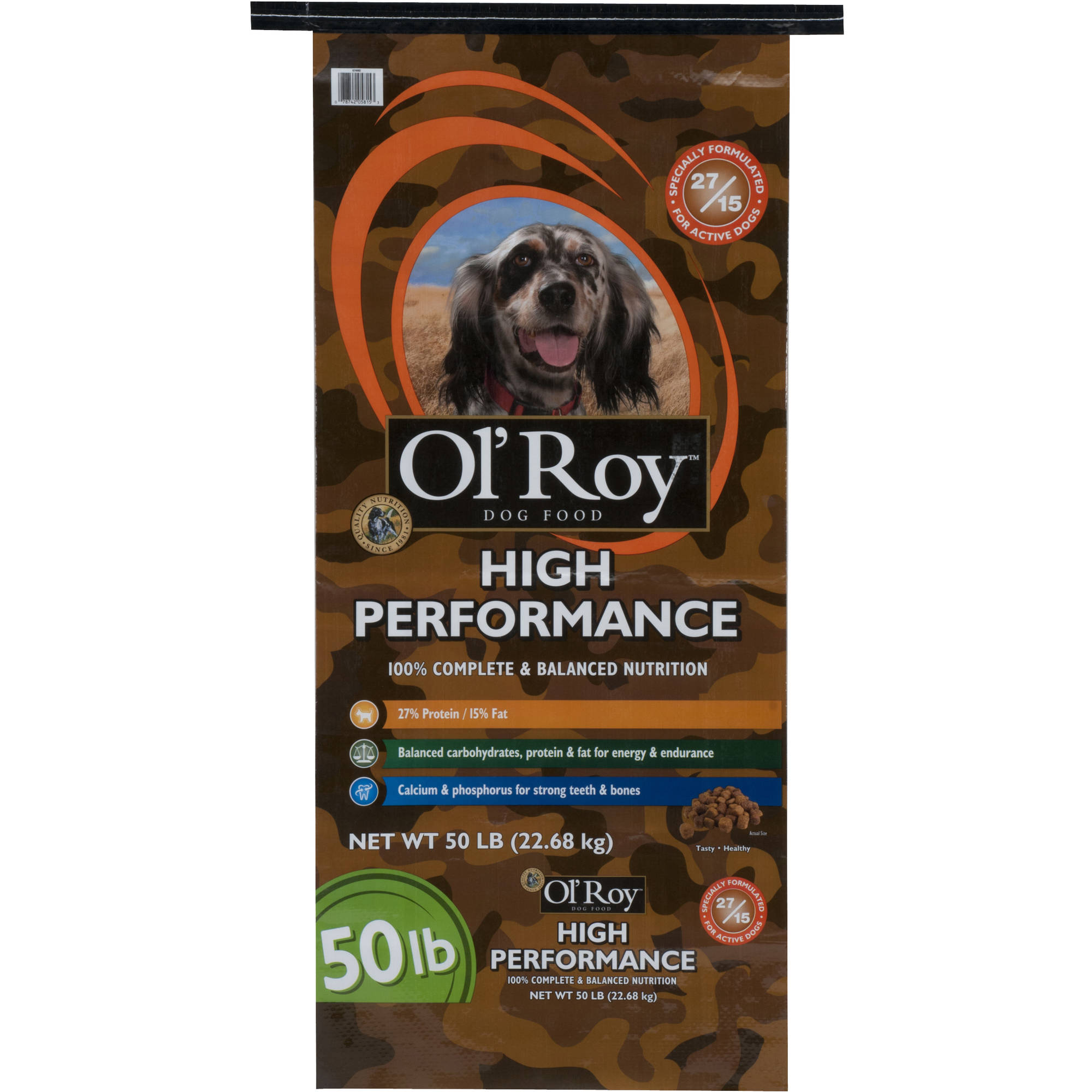 Ol' Roy: Dog High Performance Food, 50 Lb