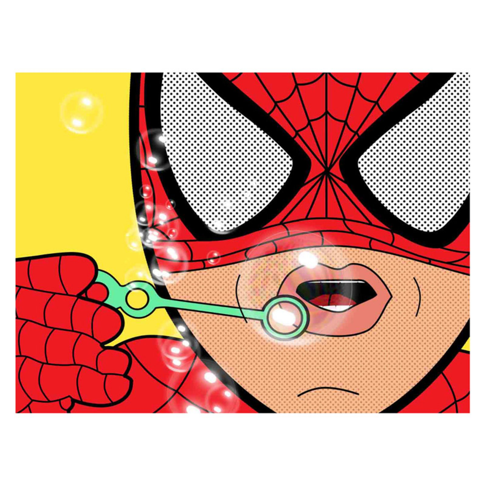 Louis Leonard Art Spiderman I by Mark Ashkenazi Canvas Wall Art