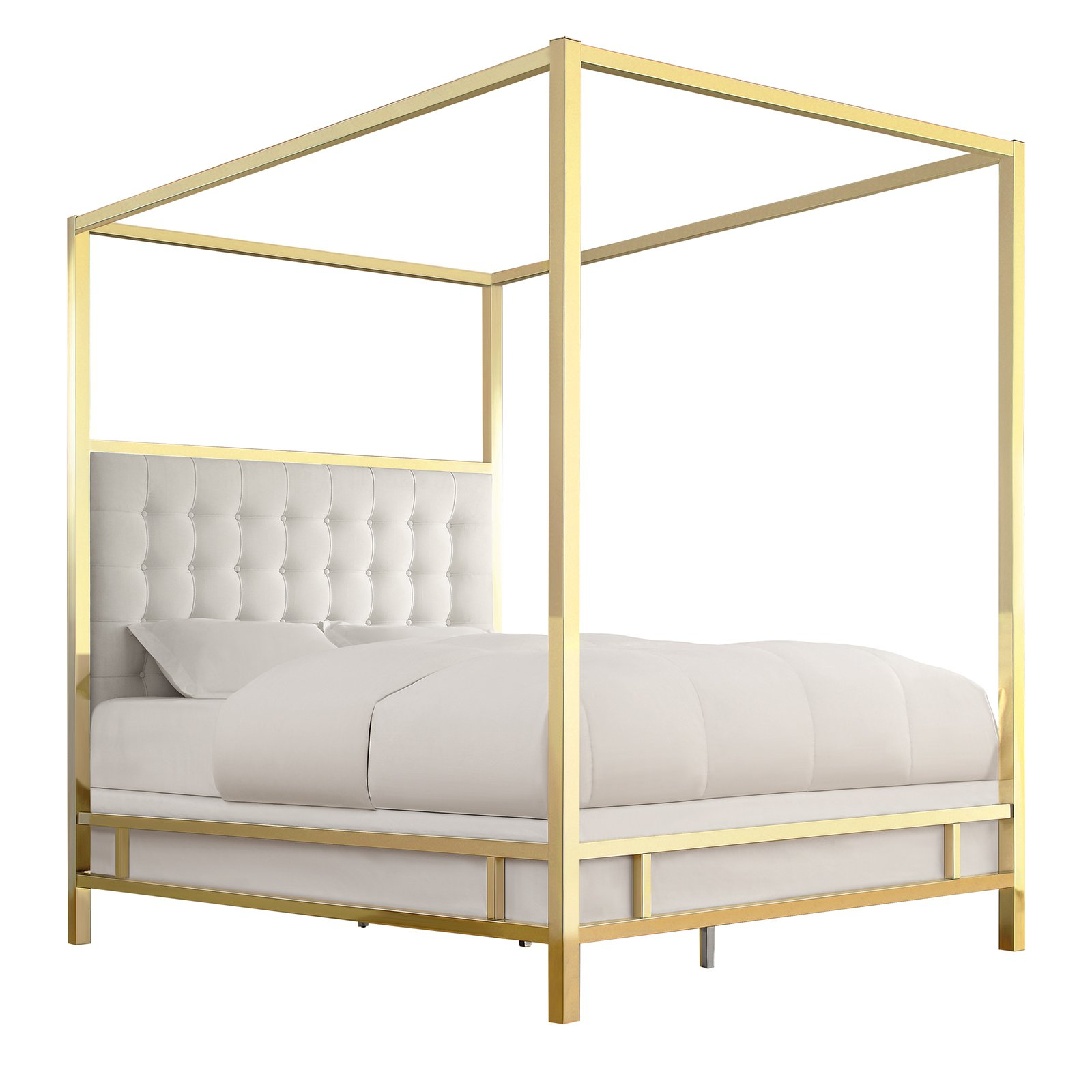 Chelsea Lane Umberton Upholstered Canopy Bed