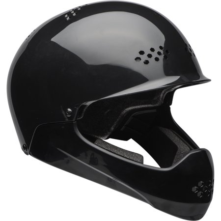 Bell Full Face Helmet >> Bell Shield Full Face Bike Helmet W Chinbar Gloss Black Child 5