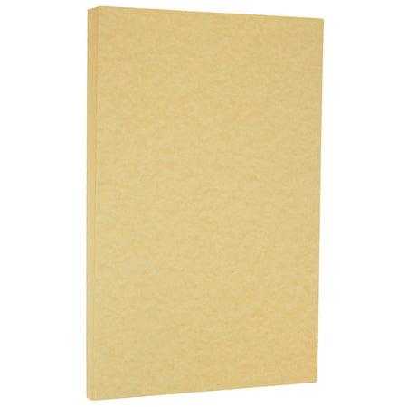Jam Paper Parchment Legal Size Cardstock 8 5 X 14 65 Lb