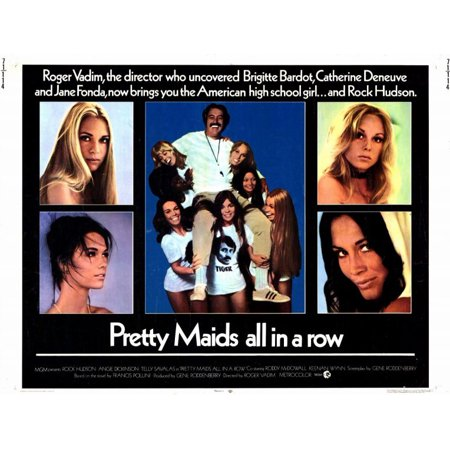 Pretty Maids All In a Row - movie POSTER (Style A) (11