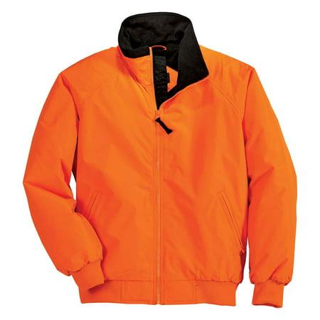 Port Authority Challenger Jacket - Port Authority Men's Extra Warmth Challenger Jacket_Safety Orange/ Black_4XL