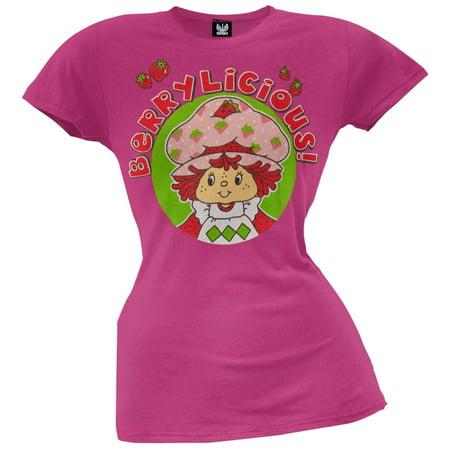 Strawberry Shortcake - Berrylicious Juniors T-Shirt - Strawberry Shortcake Outfits