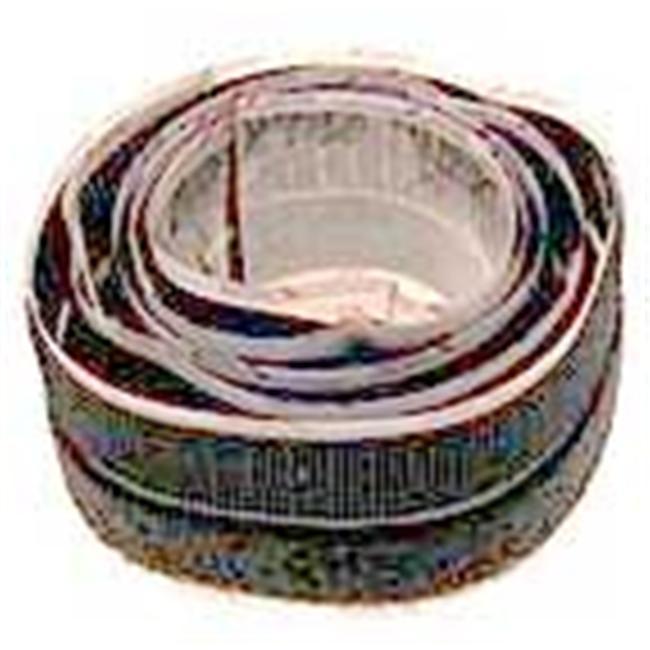 Cloth Tie Usa .75in. X 4ft. Black Cloth Tie Tape  90136 - image 1 de 1