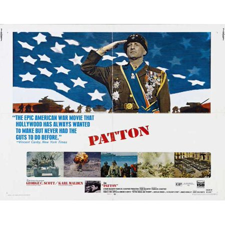 Patton (1970) 30x40 Movie Poster