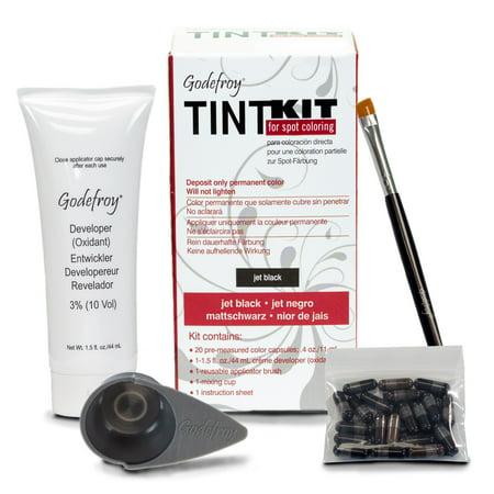 Godefroy Tint Kit, Jet Black - 20 application kit