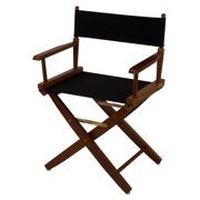 Premium Directors Chair with Mission Oak Frame