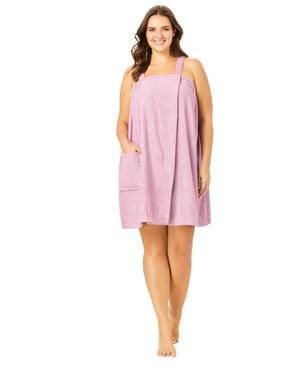 Dreams & Co. Plus Size Dreams & Co.® Terry Towel Wrap