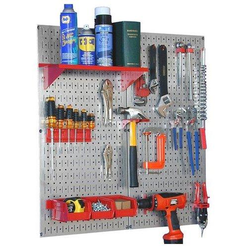30WGL200GV Steel Pegboard Utility Tool Kit