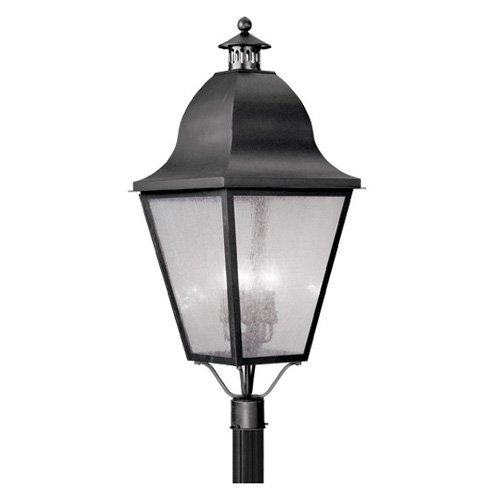 Livex Amwell 2554 Outdoor Post Head - 16W in.