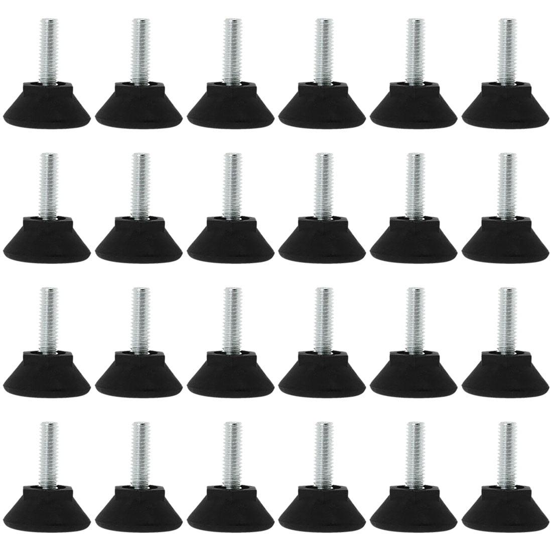 M6 x 20 x 25mm Adjustable Leveling Feet Floor Protector for Table Leg 24pcs - image 7 de 7