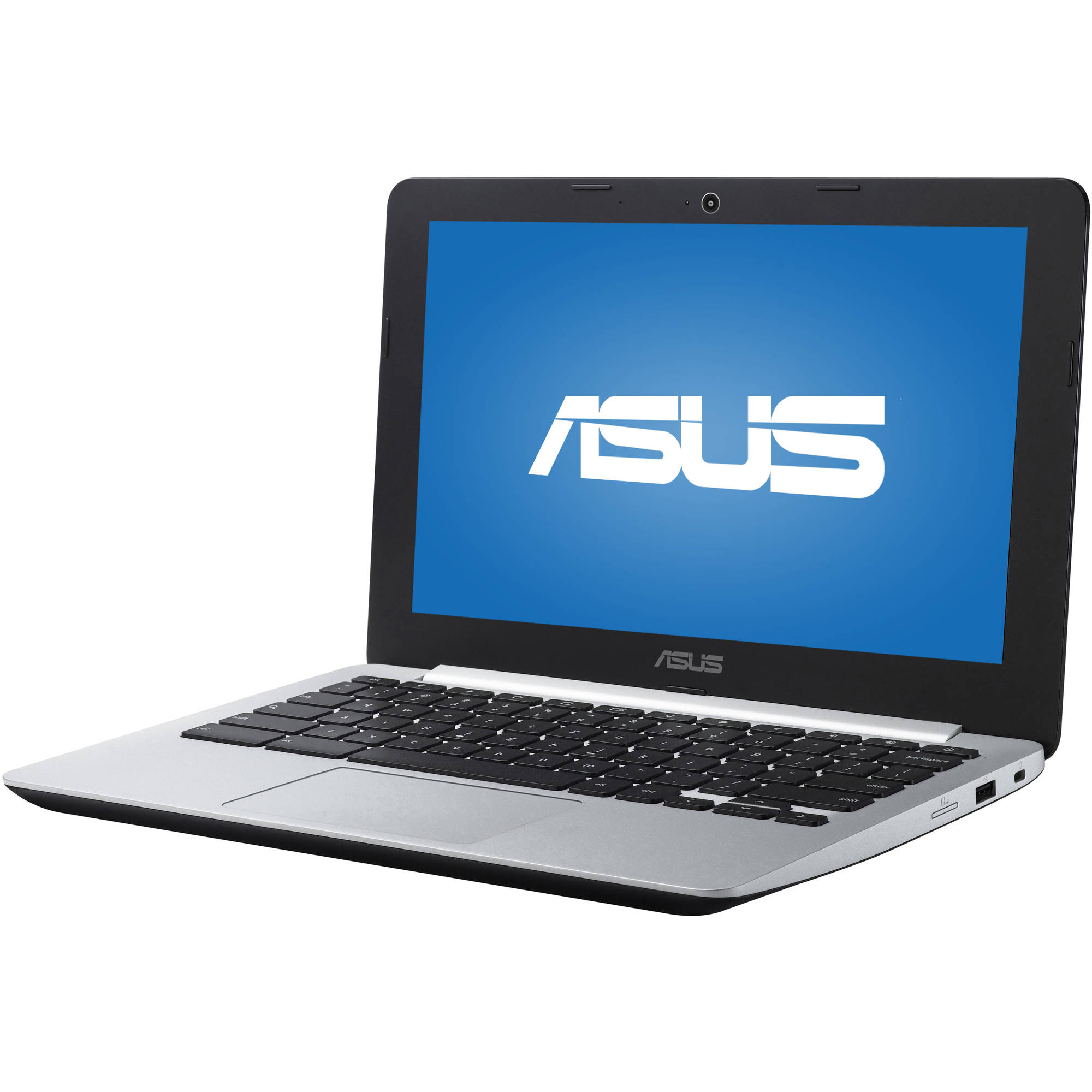 "ASUS Black 11.6"" C200MA-EDU2 Chromebook PC with Intel Celeron N2830 Processor, 4GB Memory, 16GB Solid State Drive and Chrome OS"