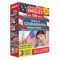 Curso de Inglés en 100 días para la ciudadanía / Prepare for Citizenship with English in 100 Days for Citizenship Audio Pack : Curso acelerado en 100 clases intensivas