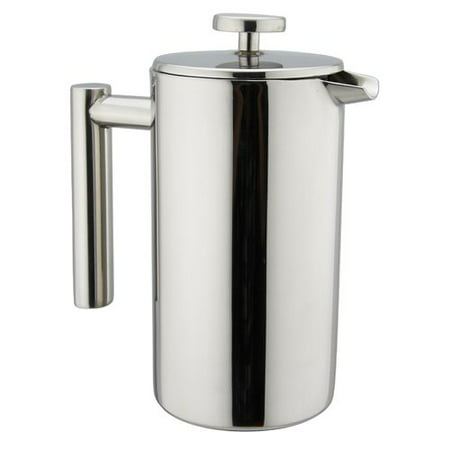 Kuissential 8-Cup Stainless Steel French Press Coffee Maker ()