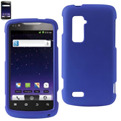 Rubberized Protector Cover Zte Anthem 4G Navy