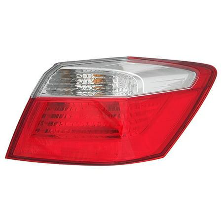 2013-2015 Honda Accord Sedan Non-LED Passenger Right Side Rear Lamp Tail Light