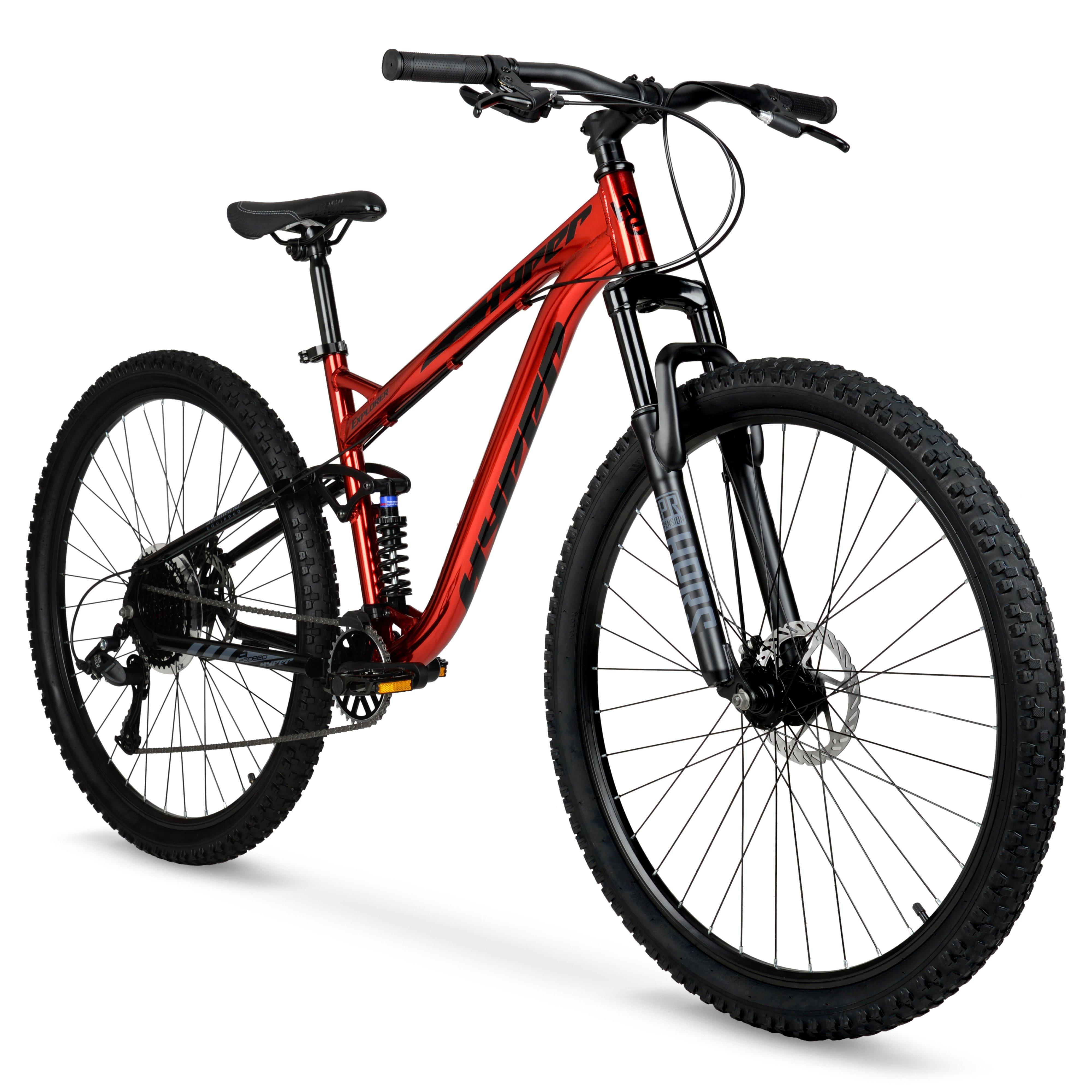 Hyper 29″ Explorer Men's Dual Suspension Mountain Bike