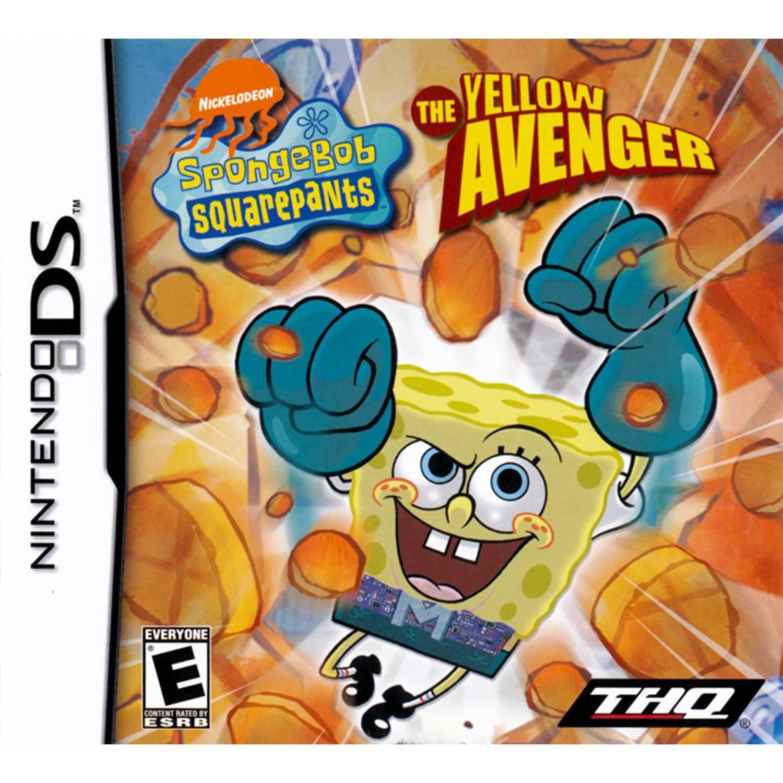 Spongebob Yellow Avenger (DS) - Pre-Owned