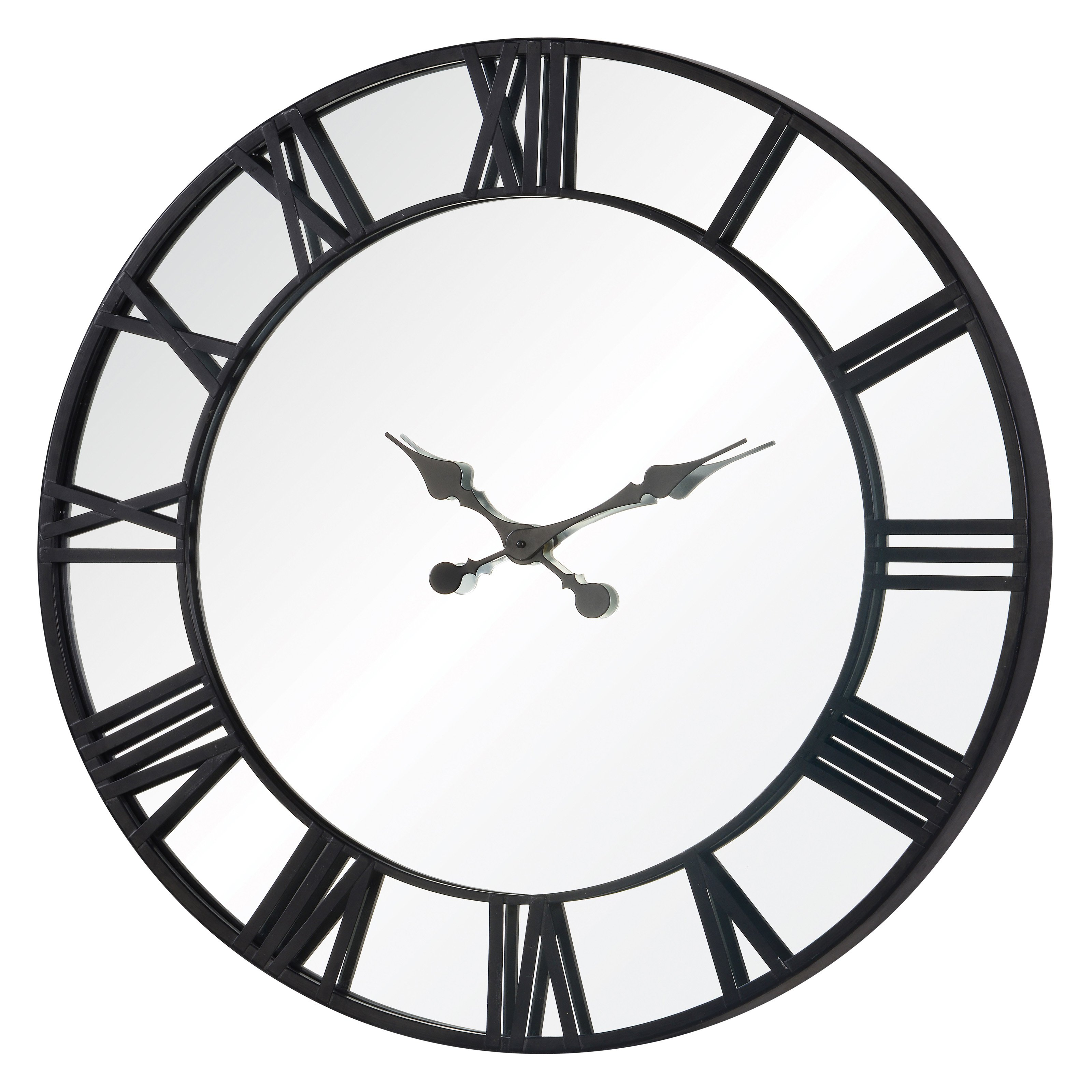 Black And White Wall Clock oversized wall clock