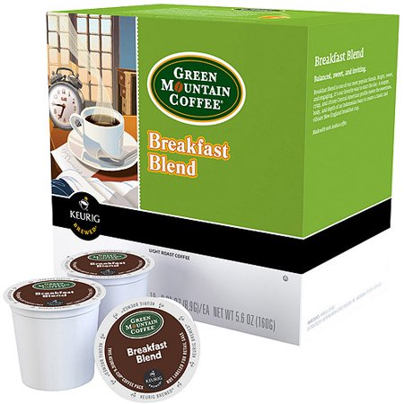 Green Mountain Breakfast Blend K Cup Instant Coffee  18 Ct 6 03 Oz