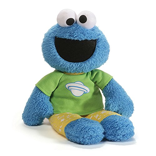 Gund Sesame Street Cookie Monster Pajama Pal Stuffed Toy Plush