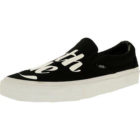 2530ddf0d3 Vans - Vans Men s Classic Slip-On Ankle-High Canvas Skateboarding Shoe -  Walmart.com