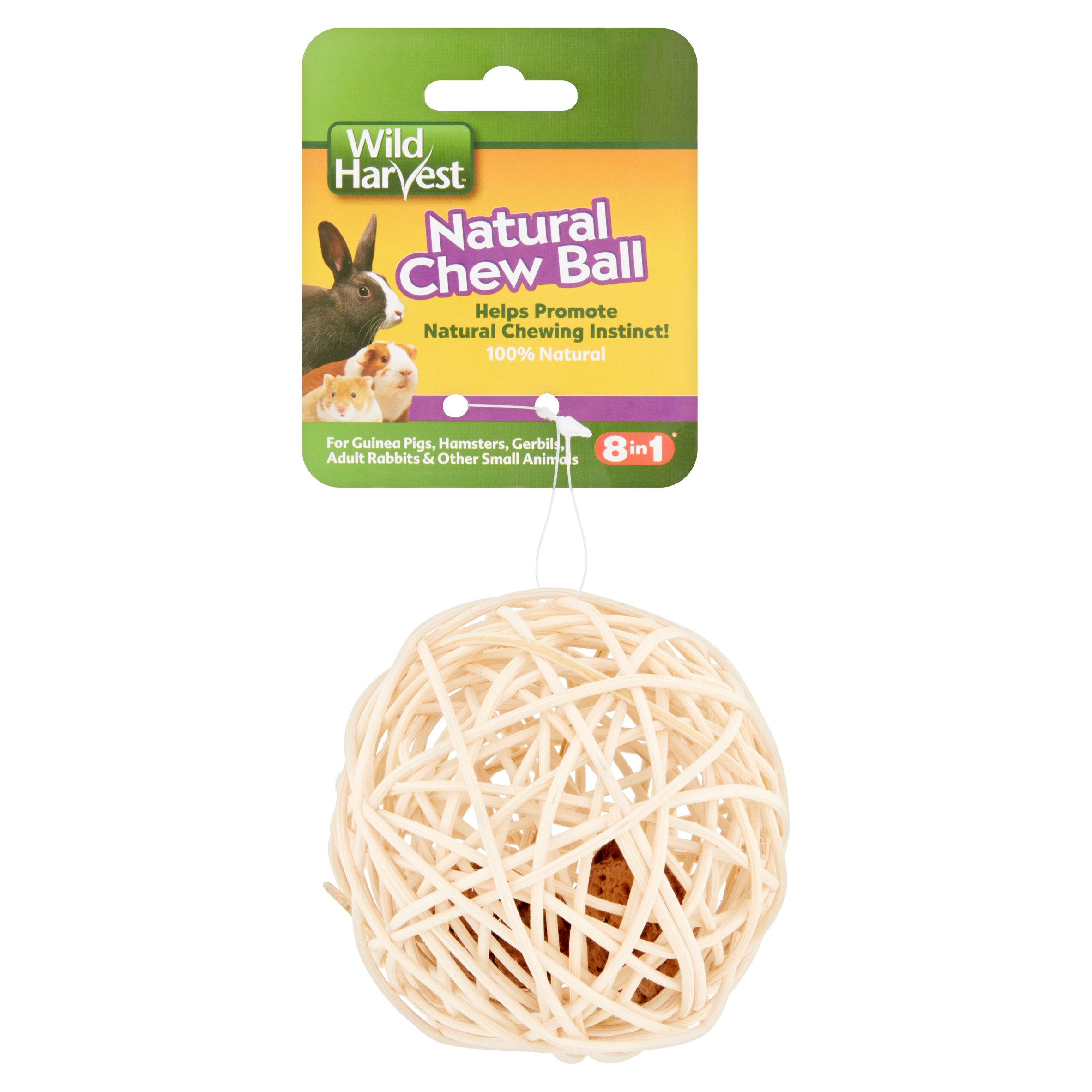 Wild Harvest Chew Ball for Guinea Pigs & Other Small Animals