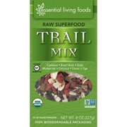 Essential Living Foods Superfood Trail Mix, Raw, 6 Oz