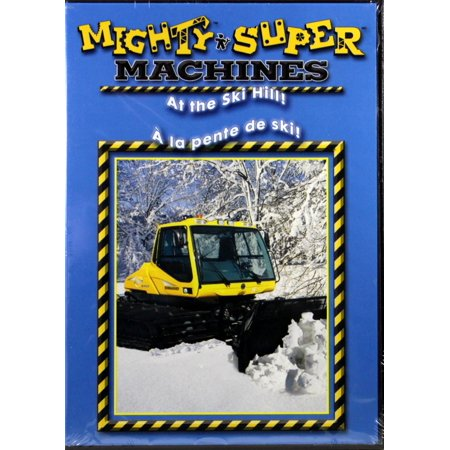 Mighty Super Machines: At the Ski Hill NEW DVD Big Sounds, Pictures and Thrills