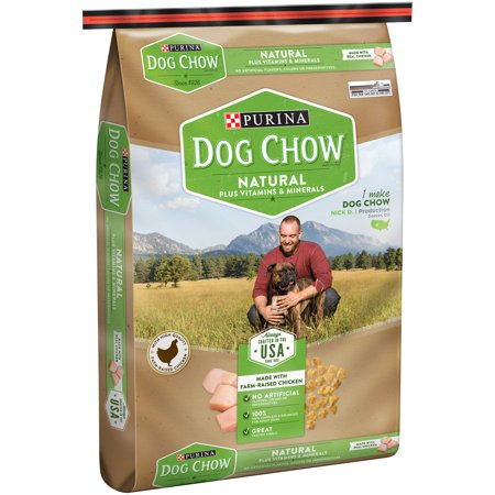 Purina Dog Chow Natural Plus Vitamins & Minerals Dog Food 16.5 lb. Bag