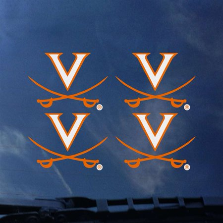 Virginia Cavaliers Transfer Decals - Set of 4